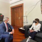 Bedolla gestiona respaldo de la SEP para concretar federalizacion de nómina